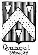 Quinget Coat of Arms / Family Crest 0