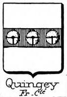 Quingey Coat of Arms / Family Crest 0