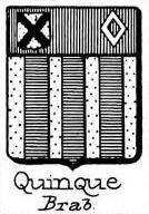 Quinque Coat of Arms / Family Crest 0