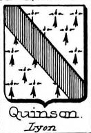 Quinson Coat of Arms / Family Crest 1