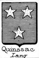 Quinssac Coat of Arms / Family Crest 0