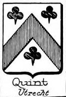 Quint Coat of Arms / Family Crest 0
