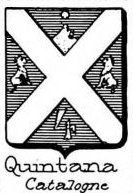 Quintana Coat of Arms / Family Crest 6
