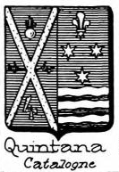 Quintana Coat of Arms / Family Crest 7