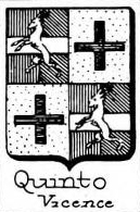 Quinto Coat of Arms / Family Crest 2