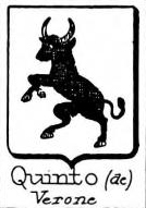 Quinto Coat of Arms / Family Crest 3