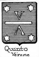 Quinto Coat of Arms / Family Crest 1