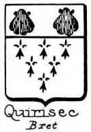 Quirisec Coat of Arms / Family Crest 0