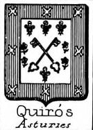 Quiros Coat of Arms / Family Crest 1