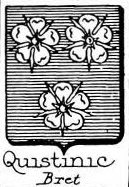 Quistinic Coat of Arms / Family Crest 0