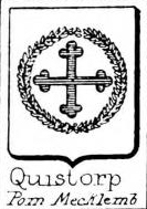 Quistorp Coat of Arms / Family Crest 1