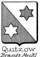 Quitzow Coat of Arms / Family Crest 2