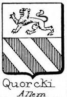 Quorcki Coat of Arms / Family Crest 0