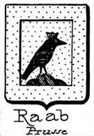 Raab Coat of Arms / Family Crest 2