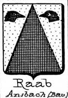 Raab Coat of Arms / Family Crest 4