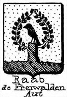 Raab Coat of Arms / Family Crest 9
