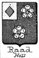 Raad Coat of Arms / Family Crest 0