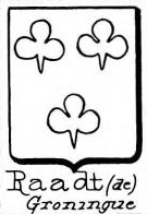 Raadt Coat of Arms / Family Crest 1