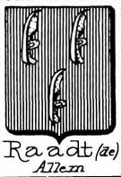 Raadt Coat of Arms / Family Crest 2