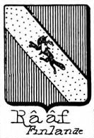 Raaf Coat of Arms / Family Crest 1