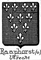 Raaphorst Coat of Arms / Family Crest 1