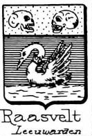 Raasvelt Coat of Arms / Family Crest 0