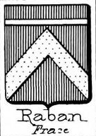 Raban Coat of Arms / Family Crest 1