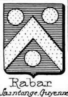 Rabar Coat of Arms / Family Crest 0