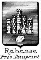 Rabasse Coat of Arms / Family Crest 1