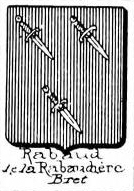Rabaud Coat of Arms / Family Crest 0