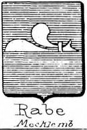 Rabe Coat of Arms / Family Crest 9