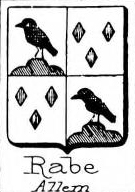 Rabe Coat of Arms / Family Crest 13