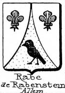 Rabe Coat of Arms / Family Crest 14