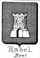 Rabel Coat of Arms / Family Crest 1