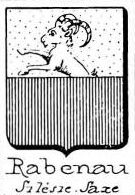 Rabenau Coat of Arms / Family Crest 1