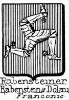 Rabensteiner Coat of Arms / Family Crest 2