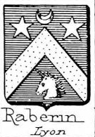 Raberin Coat of Arms / Family Crest 0