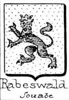 Rabeswald Coat of Arms / Family Crest 0