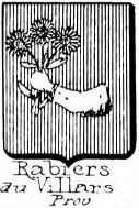 Rabiers Coat of Arms / Family Crest 0