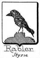 Rabler Coat of Arms / Family Crest 0