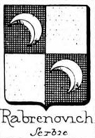 Rabrenovich Coat of Arms / Family Crest 0