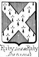 Raby Coat of Arms / Family Crest 4