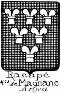 Racape Coat of Arms / Family Crest 0