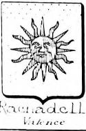 Rachadell Coat of Arms / Family Crest 1