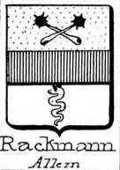 Rackmann Coat of Arms / Family Crest 0