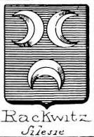 Rackwitz Coat of Arms / Family Crest 3