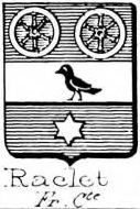Raclet Coat of Arms / Family Crest 0