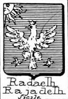 Radaelli Coat of Arms / Family Crest 1