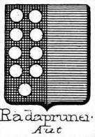 Radapruner Coat of Arms / Family Crest 0