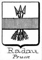 Radau Coat of Arms / Family Crest 1